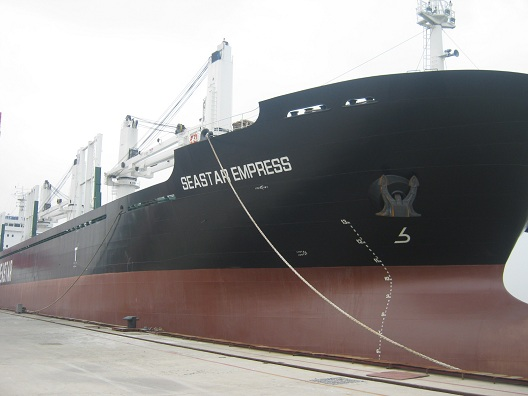 Norbulk - Seastar Empress, Sister vessel to Seastar Endurance.